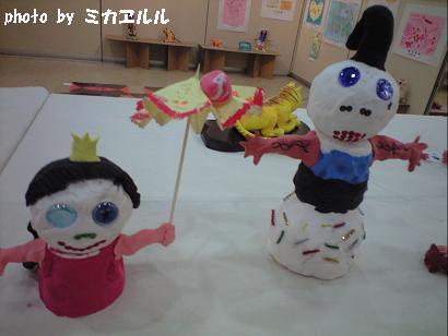10.03アトリエ展示会・ぷーこの作品おひなさまCA390995