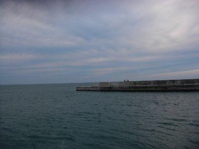 離岸堤のハナレ