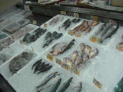 温泉郷魚屋