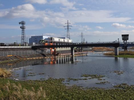 神奈川県内広域水道企業団・飯泉取水施設取水口