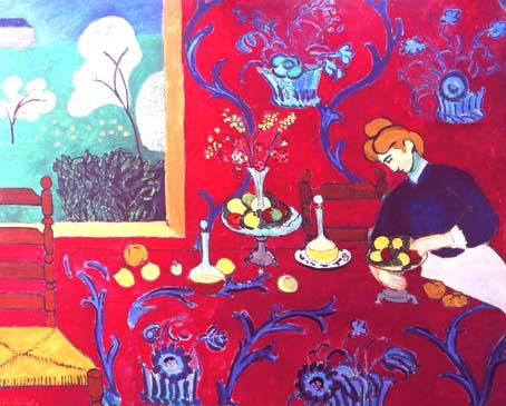 201205 マチス 赤の部屋 16cm