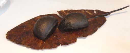 20120702 1アミュズ 玉葱の葱炭包み揚げ 18cmDSC00315