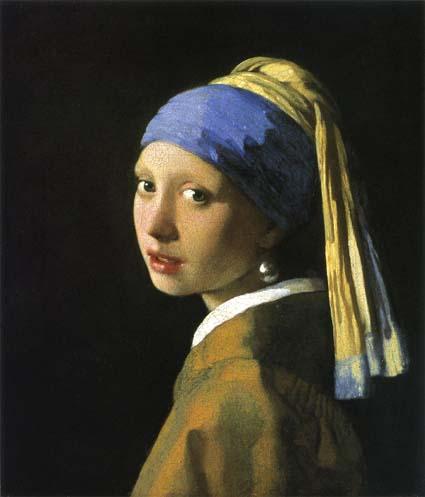 20120912 フェルメール真珠の耳飾の少女 15cm