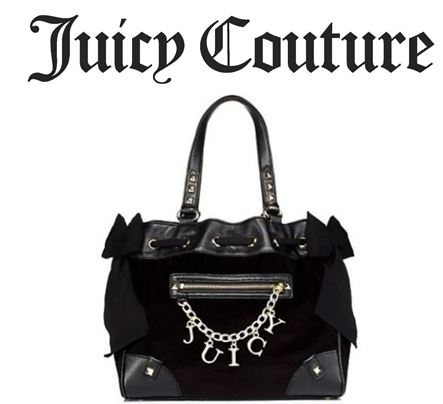 JUICY COUTURE ベロア ハンドバッグ