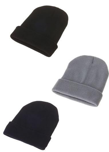 【ECURY】ベーシックニット帽2
