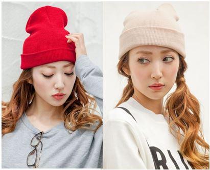【ECURY】ベーシックニット帽1