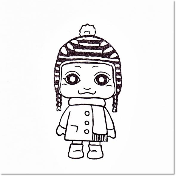 ベイビーサキ冬のおでかけファッション♪の巻