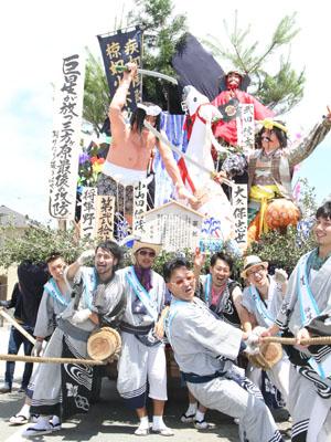 平成24年度土崎港曳山祭り その他撮影 将軍野一区