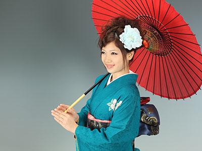 秋田の成人式 スタジオ撮影 振袖 前撮り サエコさん