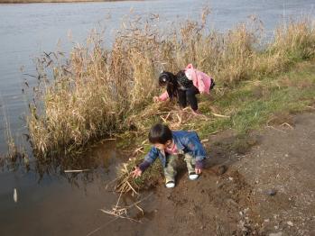 川遊び ホクト ミヅキ