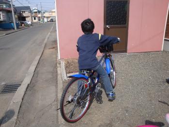ヤマトの自転車