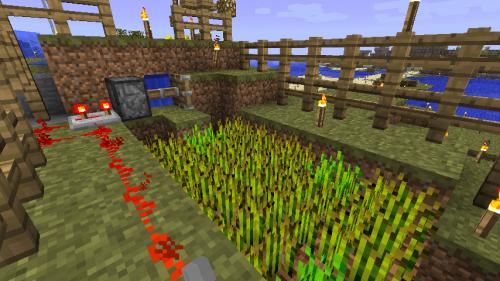 小麦狩り機