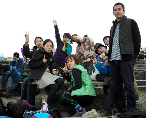 04塔ノ岳お昼ご飯