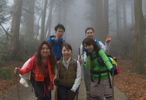 29金剛山山頂手前2