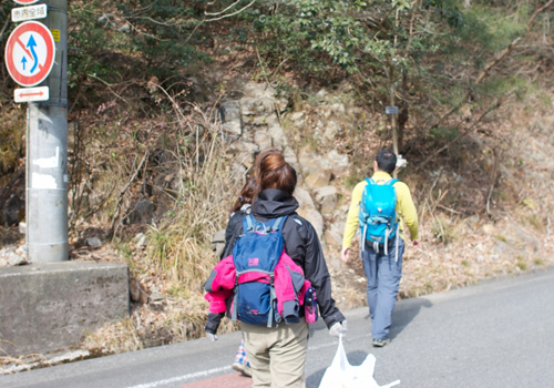 10-2大峰登山口へ