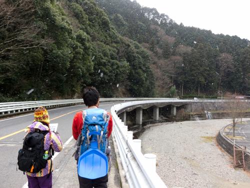 01滝畑バス停付近