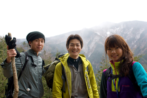 4岩湧山登り
