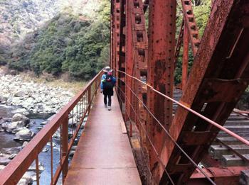 2回目の鉄橋武庫川廃線