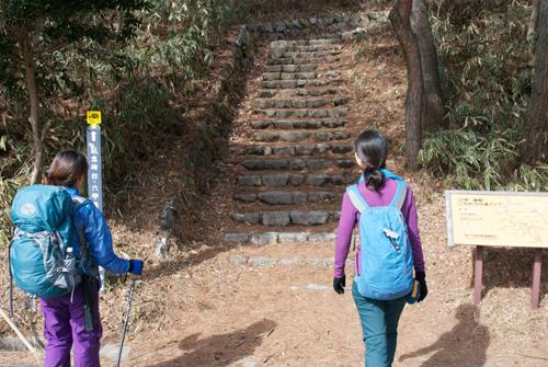 10六甲山最高峰へ