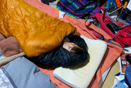 01前夜祭寝袋1