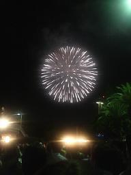 名古屋港の花火♪