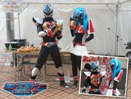 渦戦士エディー_inアミコデッキ文化祭