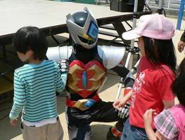 渦戦士エディーin徳島児童ホーム