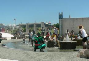 渦戦士エディーin月見ケ丘海浜公園