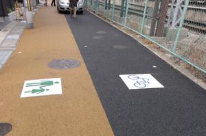 長岡京市自転車道blog01