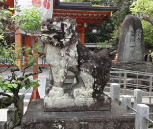 長岡天神狛犬blog02