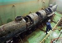 修復が完了、南北戦争の潜水艦