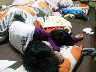 姫と寝るの図