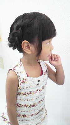 姫髪を切る(^v^♪
