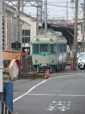 近江神宮前駅保存車両