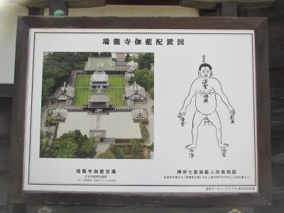 瑞龍寺伽藍案内図