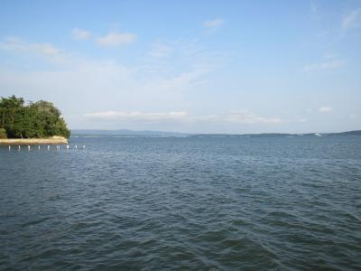 七尾湾と能登島