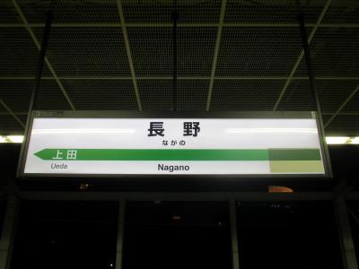 長野駅名標