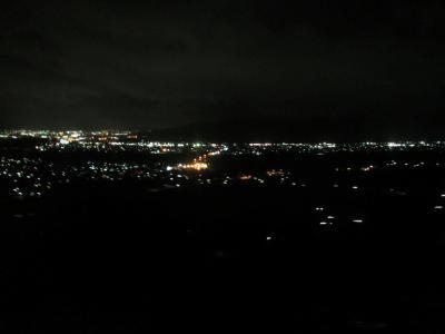 姨捨駅付近夜景