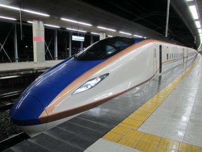 長野駅E7系