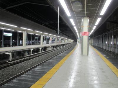 長野駅新幹線ホーム