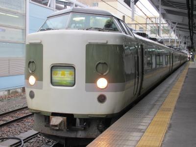 妙高号長野駅