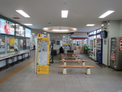 十日町駅コンコース
