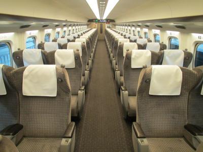 N700系グリーン車1