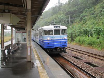越後川口駅115系