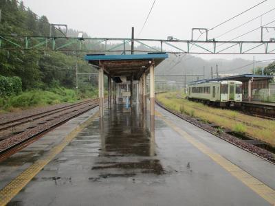 越後川口駅ホーム
