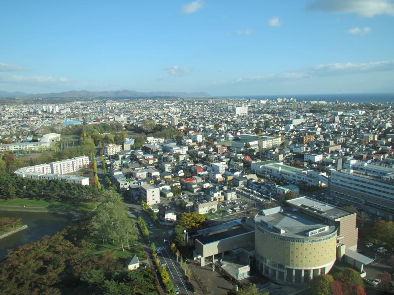 五稜郭タワー眺望2