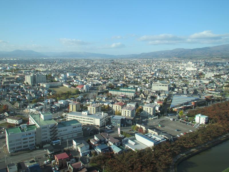 五稜郭タワー眺望1