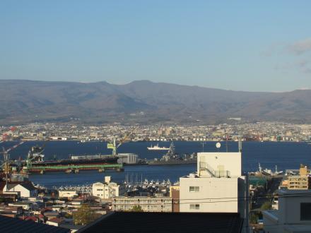 函館港俯瞰