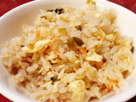高菜サーモン炒飯