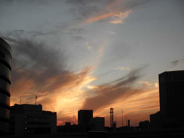 20111029夕焼け